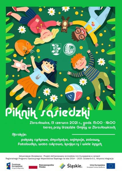 Piknik sąsiedzki – 13 Czerwca