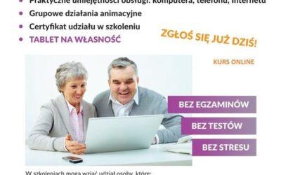 Szkolenie komputerowe skierowane dla Seniorów